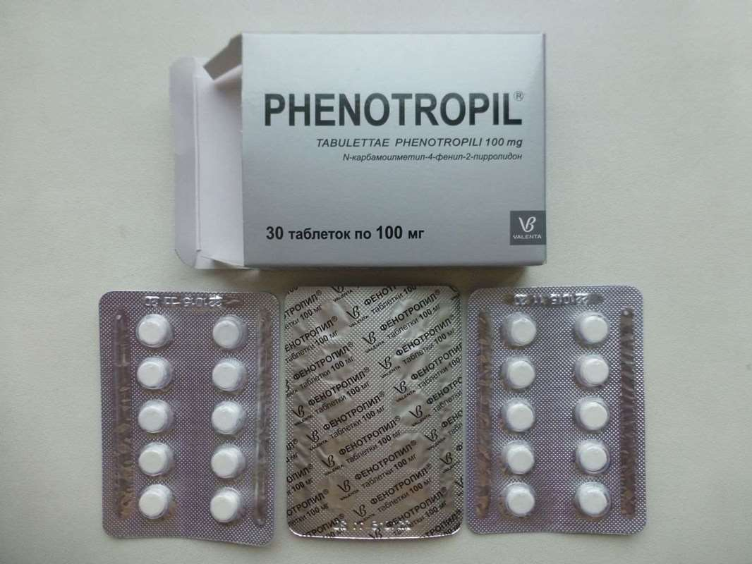 Phenotropil 100mg – 30 pills (Carphedon)
