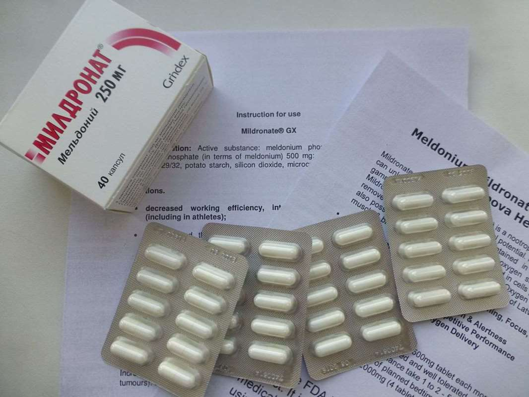 Mildronate 250 mg - 40 pills