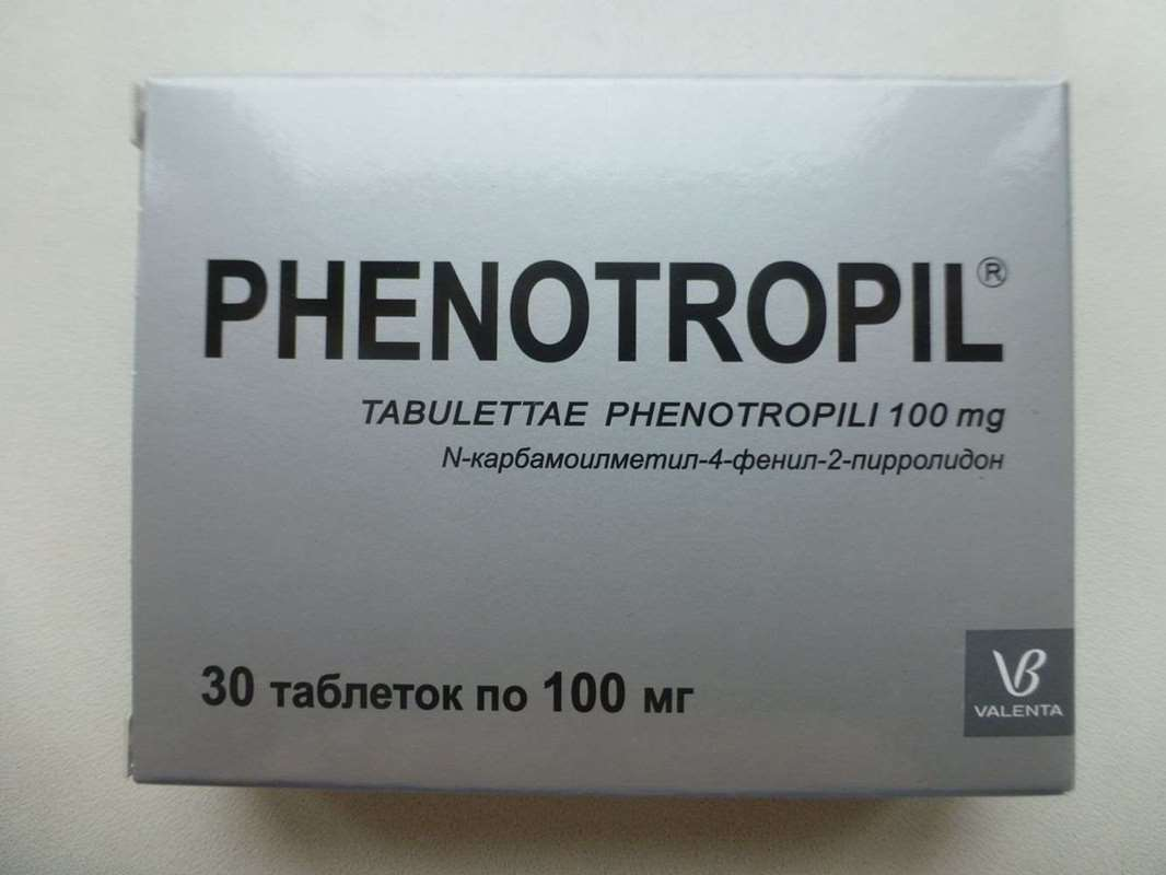 Phenotropil 100mg