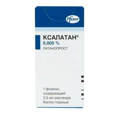 Xalatan eye drops 0.005% 2.5ml buy effective drugs for the treatment of glaucoma