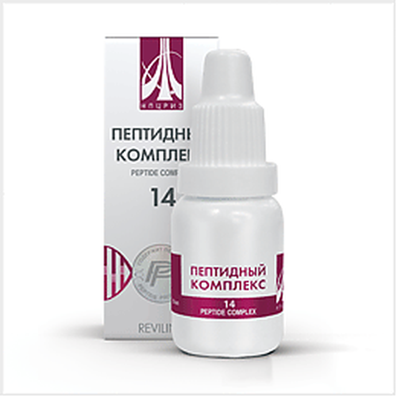 Peptide complex 14 10ml for strengthening the veins and the prevention of venous diseases