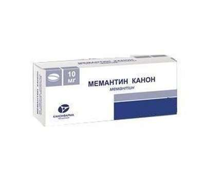 Memantine-Canon 10mg 90 pills buy muscle relaxant central action online